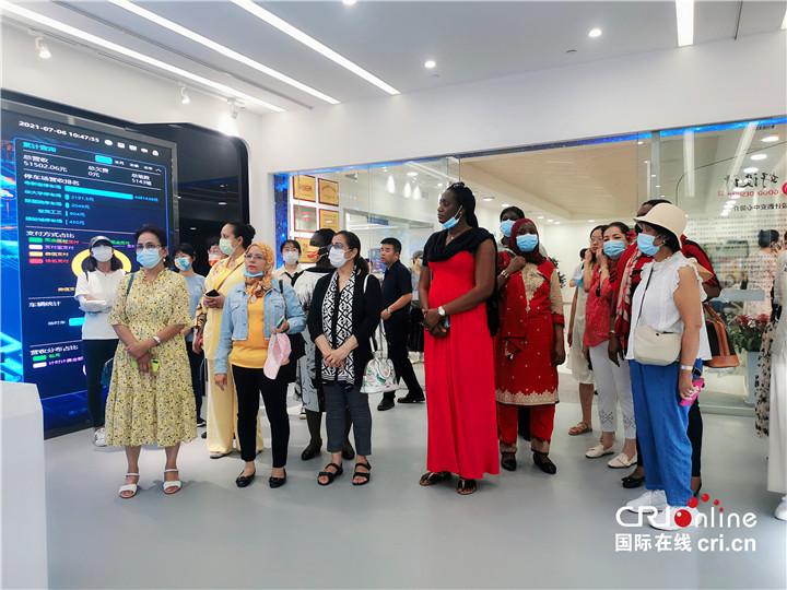 【Hi 西安】在碑林看未来 驻华大使夫人希冀中埃两国可以有更多科技合作_fororder_图片51