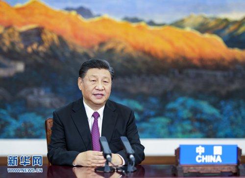 习近平出席亚太经合组织领导人非正式