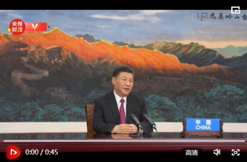 独家视频丨习近平:早日建成高水平亚