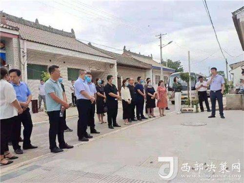 """渭南市""""厕所革命""""现场推进会在合阳县坊镇渤海社区召"""