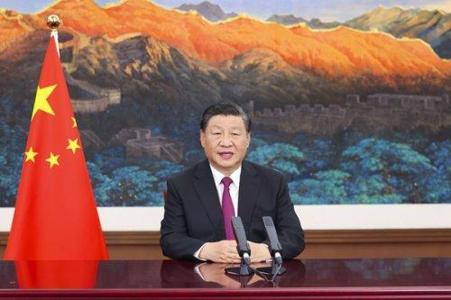 习近平在2021年中国国际服务贸易交易