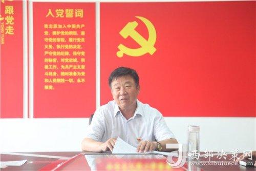 """渭北高原的护水人――记""""全国水利劳模""""武忠贤的水利"""