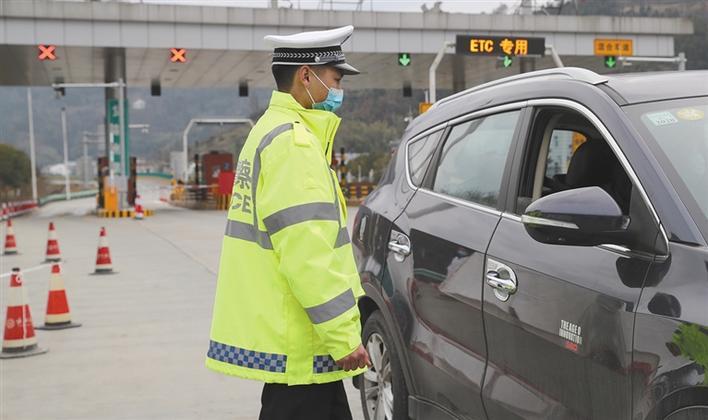 陕西交警:排查车辆 防控疫情