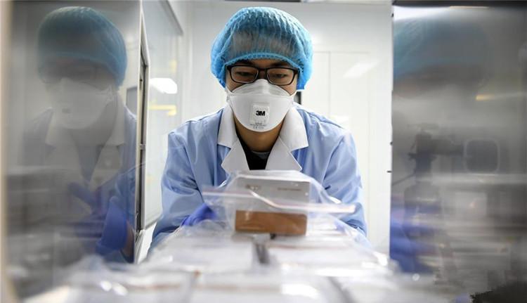 天津药企病毒检测试剂盒无偿支援湖北